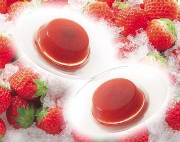 旭川生まれの苺で作ったゼリー