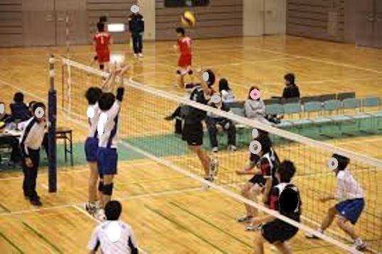 男バレ練習試合