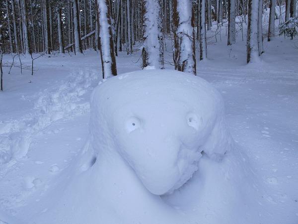 雪の芸術7