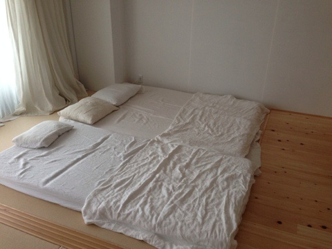 ... 無印良品 ダブルベッド、マットレス、敷布団、掛け布団セットの2枚目の ...
