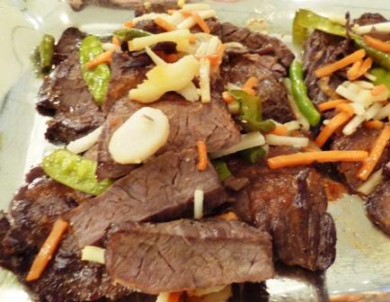 タイ風ビーフステーキ