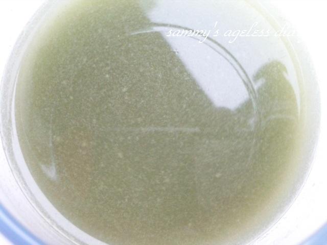 青汁畑 水に溶いて