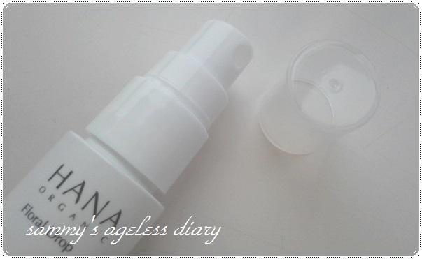 HANAオーガニック トライアル 化粧水 スプレー式
