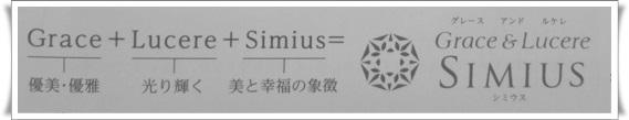 シミウス ホワイトニングリフトケアジェル 語源