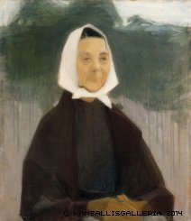 Schjerfbeck Granny 1907