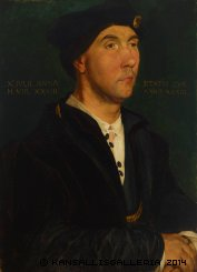 Schjerfbeck Copy of Holbeins painting Sir Richard Southwell 1886
