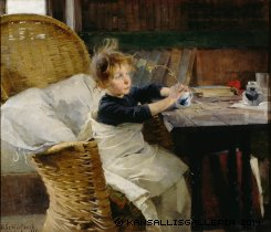 Schjerfbeck The Convalescent 1888