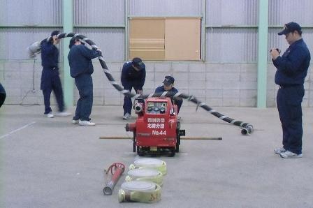 消防ポンプ操法 (1)