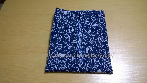 日本手拭いで作る四角衣12