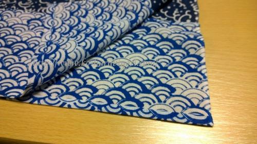 日本手拭いで作る四角衣8
