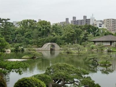 跨虹橋と濯纓池