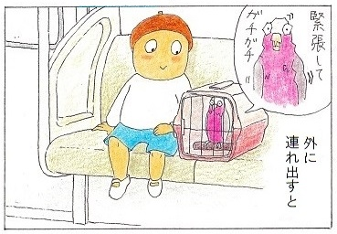 電車に乗ってお出かけ②