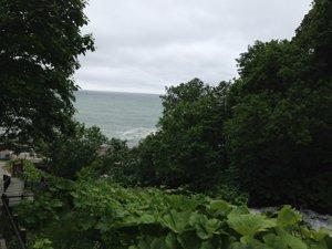 20150617 オシンコシンの滝からオホーツク海