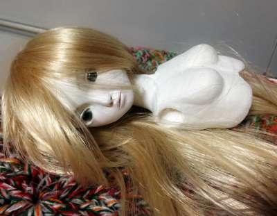 20150807 球体関節人形 ウィッグ