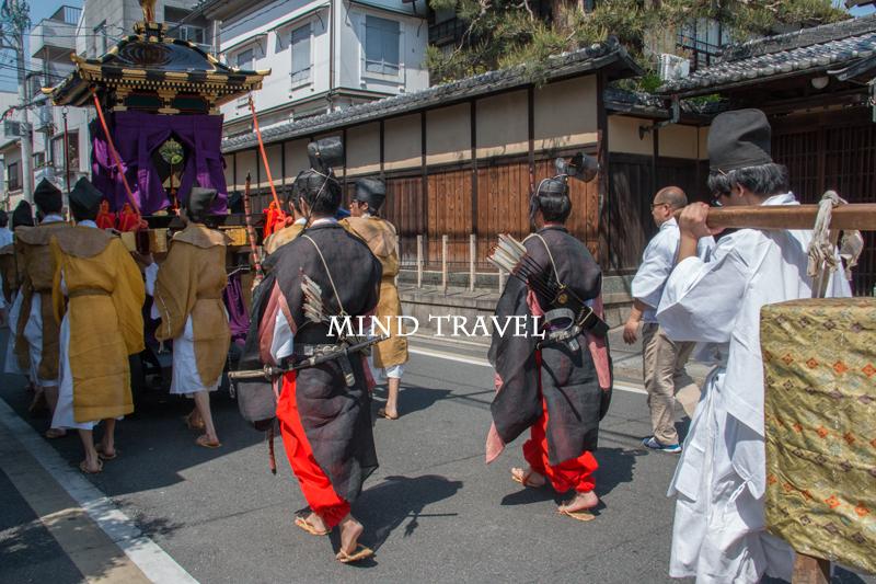 須賀神社 角豆(ささ)げ祭 行列
