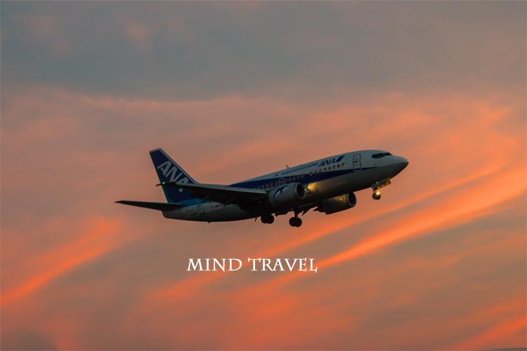 大阪国際空港 夕陽6