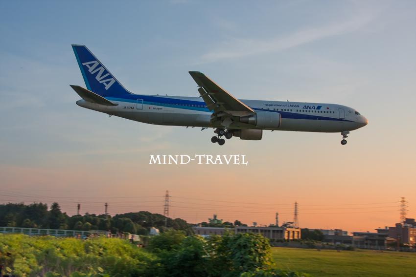 大阪国際空港 夕陽5