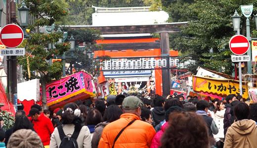 2015生田神社 初詣-2