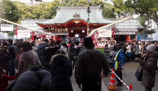 2015生田神社 初詣-3
