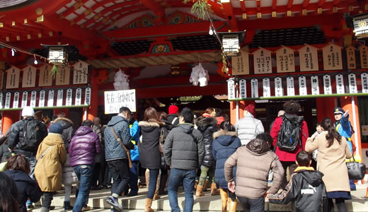 2015生田神社 初詣-4
