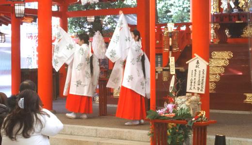 2015生田神社 初詣-5