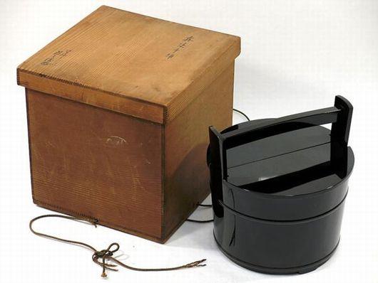 茶道具 塗師 荘兵衛 真塗手桶