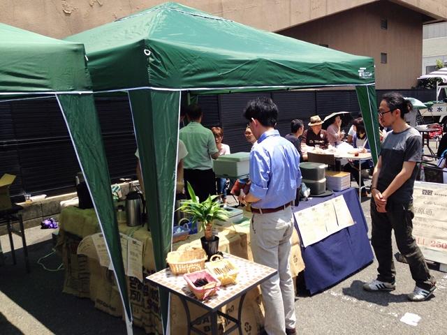 『空き地カフェ』 初夏のコラボランチ@兵庫区に行きました(^^♪