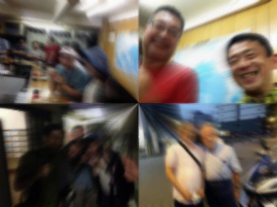 下町ツアーの終盤 『公園前世界長』♪→立ち食いうどんヽ(^o^)丿