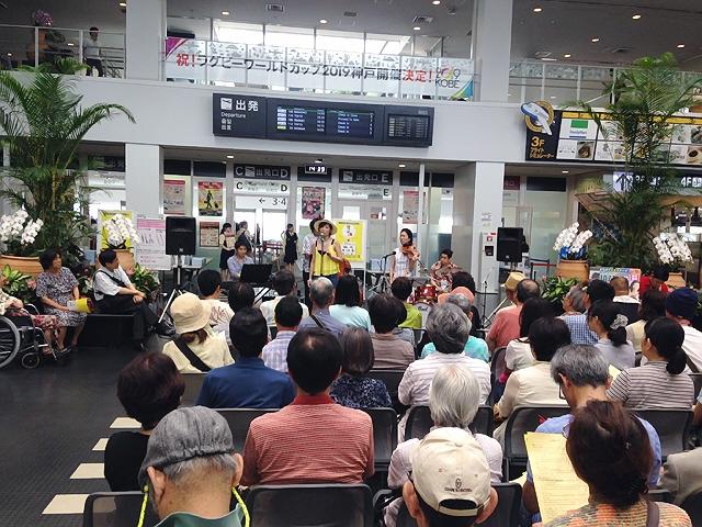 『神戸空港ジャズライブ2015.7.11』 最高でした(^^♪
