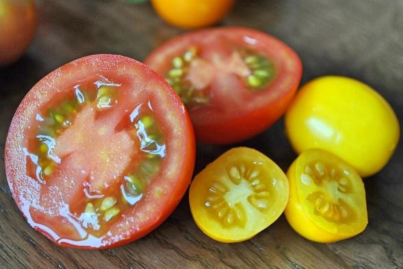フルーツトマトandアイコyellow