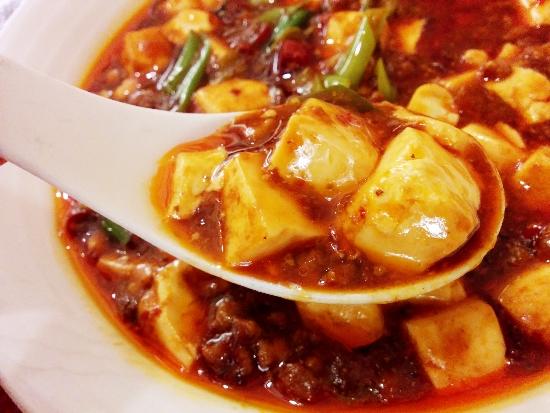 麻婆豆腐ランチ3