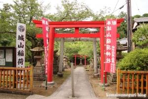 城山稲荷神社(松江市殿町)2