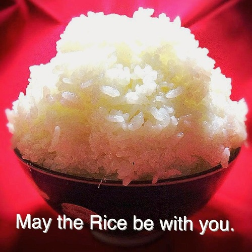 May the rice be with you!