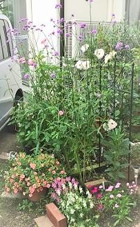 Y様宅花壇