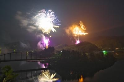 2015年亀山湖上祭【花火大会】_14