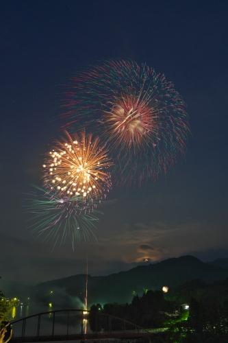 2015年亀山湖上祭【花火大会】_13