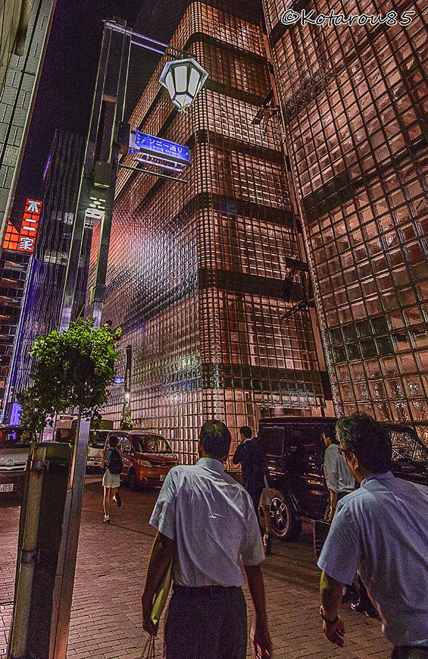 銀座ソニー通り 20150717
