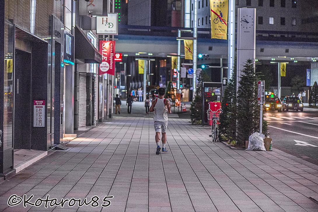 銀座でジョギング 20150729
