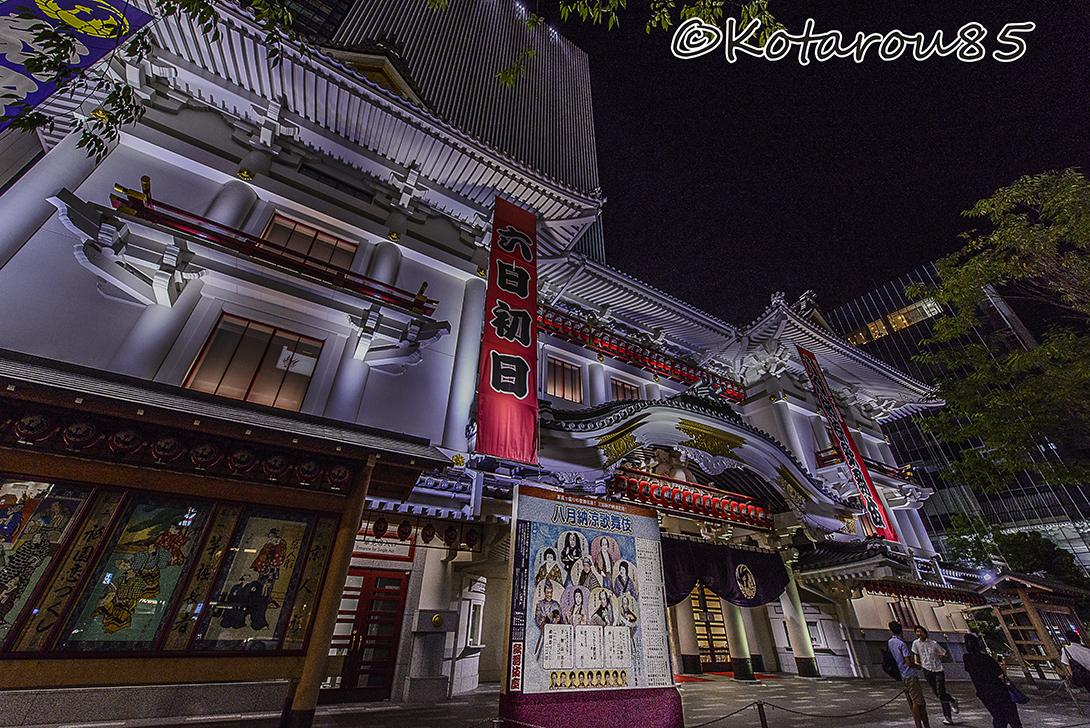 歌舞伎座8月公演 20150805
