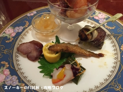 芳彦先生のプレミアム大反省会食事