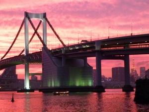 加工P1070833夕暮れ東京湾