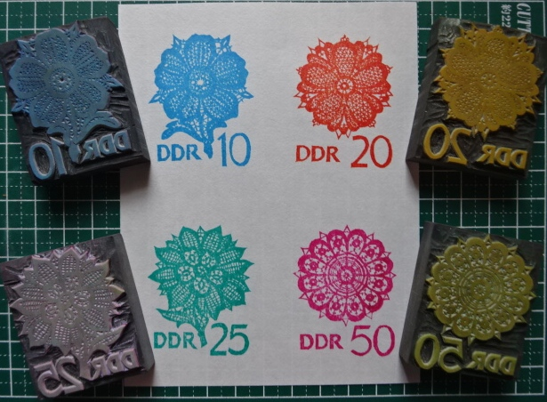 DDRレース切手