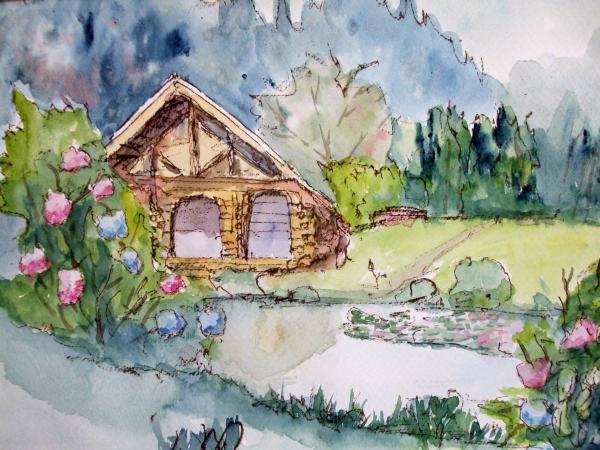 ハチ高原 池