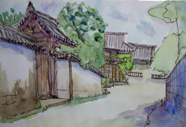 西大寺 鐘突き堂