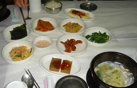 韓国式朝定食