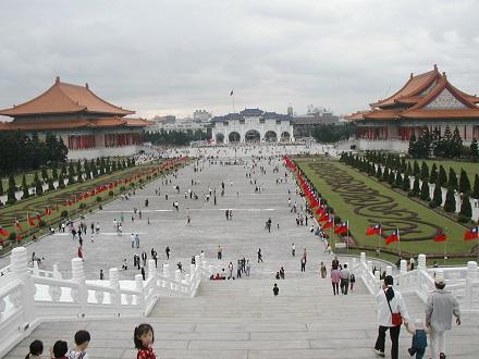 蒋介石を記念した中正記念堂