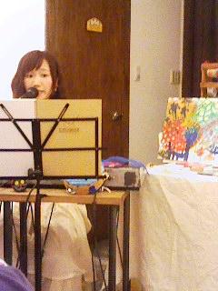 歌うきだまみさん 150722_1813~001