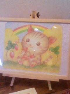 Koo 毛利さんの猫絵 150725_1634~001