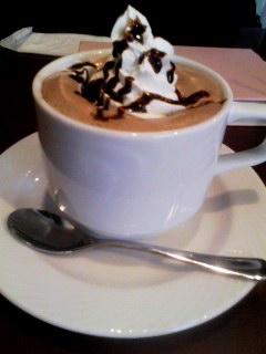 Living Cafe  ホットチョコ 150804_1225~001