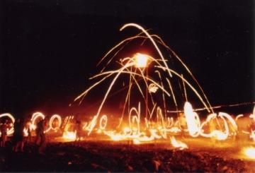 南部の火祭り(南部町)
